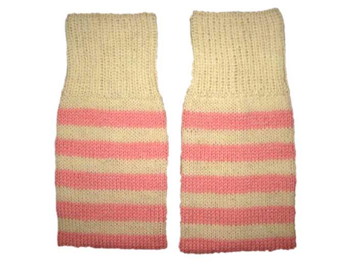 Женские гетры из хлопка.  Можно носить тремя способами: удлиненные.